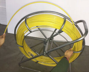 Fish Tape Fiberglass Wire Cable Running Duct Rodder Fishtape Puller 8mm260m Too