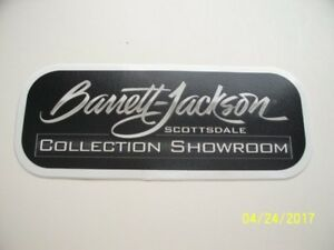 Original Racing Decals Barrett Jackson Collection Showroom 1