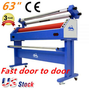 Usa Qomolangma 63in Wide Format Cold Laminator Semi auto And Mounting Machine
