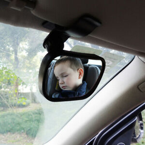 360 Adjustable Car Inside Back Rear View Mirror Clip W Suction Cup For Baby