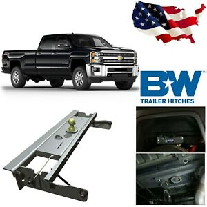 B w Gnrk1012 Turnover Ball Gooseneck Hitch For 2011 2015 Chevy Gmc 2500hd 3500hd