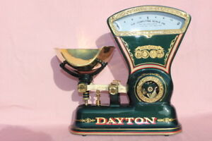 Vintage 1906 Dayton 166 Candy Scale Tobbaco Coffee