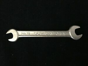 Lot Of 5 New Dowidat No 12 1 16 w X 3 32 w Whitworth Open ended Wrenches