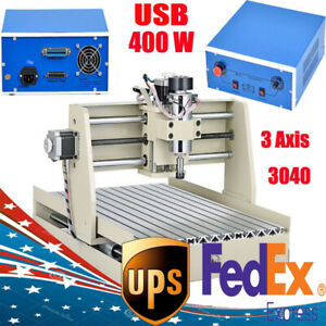 3 Axis Usb Cnc3040 Router Engraver Engraving Drilling Milling Machine W T screw