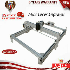 Mini Laser Cnc Router Printing Engraving Machine Kit Mill Carving 500mw Grbl Usb