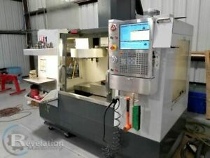 2013 Haas Vf 1 Rigid Tapping Low Hours Tooling Available Video Available