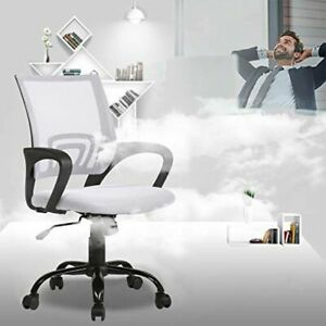 Office Chair Desk Mesh Computer Desk Ergonomic Back Support Modern Adjustable