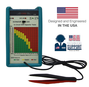 Gme Professional In circuit Esr Capacitance Meter Capacitor Tester Usa Warranty