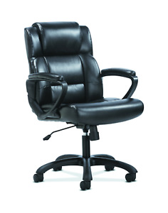 Sadie Leather Executive Computer office Chair With Arms Ergonomic Swivel Chair