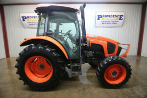 2017 Kubota M5 091 Cab Diesel Tractor 4x4 Ac heat And Only 611 Hours