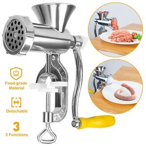 House Electric Meat Grinder Stainless Steel Food Sausage Stuffer Maker Machine