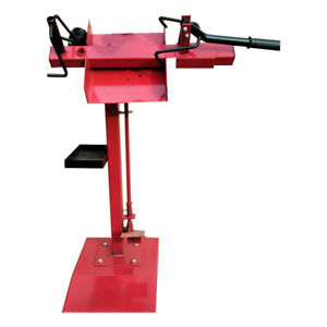 Vertical Manual Tire Repair Equipment Tyre Speader Truck Tire Mending Machine