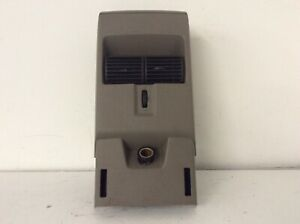 06 10 Ford Explorer Rear Center Console Air Vent Grille Cup Holder W Panel Oem