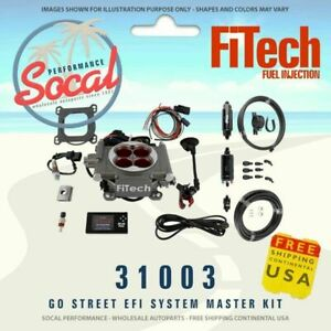 Fitech Go Street Efi 400hp Self Tuning Fuel Injection System 31003