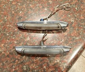 80 85 Cadillac Opera Lights Deville Fleetwood Rwd Oem Outside Exterior Lamps
