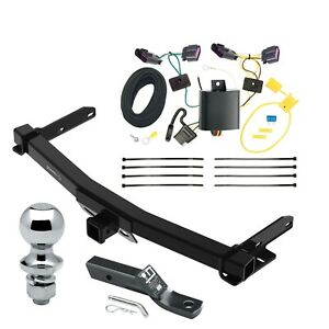 Trailer Tow Hitch For 14 20 Dodge Durango Complete Package W Wiring 1 7 8 Ball