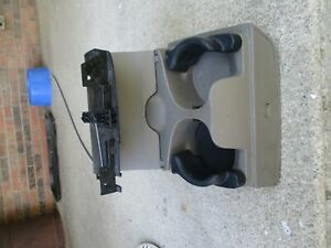 Dodge Ram 1500 2500 Truck Pickup In Dash Dual Drink Cup Holder Taupe 02 05 Oem