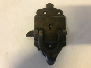Antique Ice Box Refrigerator Door Latch Lock L Patented 06 29 1897