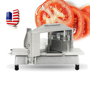 Ups Commercial Tomato Slicer Cutter 3 16 Heavy Duty Industrial Cutting Machine