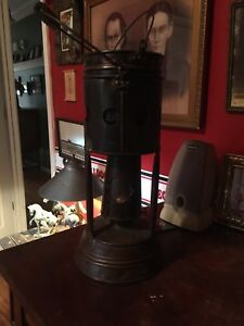 Vintage Coal Miners Heater Cook Stove