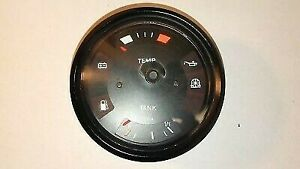 Vdo Fuel Oil Temp Gauge 477919033 For Porsche 924 1976 1979 Tested Good
