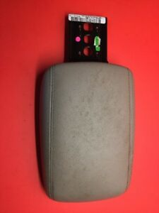 15 16 Ford Focus Front Center Console Lid Armrest Arm Rest Gray Oem