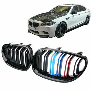 3 color M5 Style Front Kidney Grille For Bmw Grill E60 E61 525i 530i 2004 2009