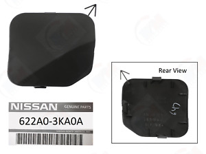 Front Bumper Tow Hook Eye Cover 622a0 3ka0a For 2013 2017 Nissan Pathfinder