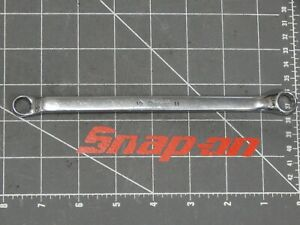 Snap On Tools Offset Double Box Wrench 10mm 11mm Xbm1011 Xbm 12pt Boxed Metric