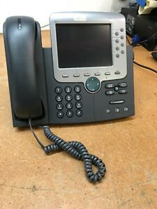 Cisco 7970 Cp 7970g 8 line Ip Voip Color Display Touch Screen Office Phone