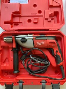 Milwaukee 5380 21 1 2 In Heavy duty Hammer Drill Great Condition