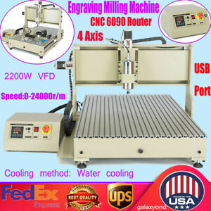 Usb4axis Cnc Router Machine Full Kit 2 2kw Cnc Router Engraver Engraving Machine