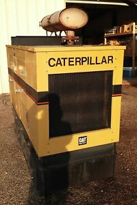 Nice Caterpillar Cat 156kva Diesel Auto Start Genset Generator With Low Hours