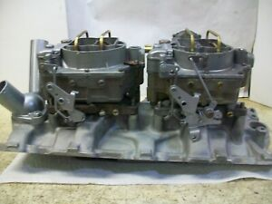 Restored Dual Quads Intake For 1956 Early 1957 Chevrolet Corvette