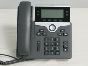 Lot Of 5 Cisco Cp 7841 Voip Poe Business Phone