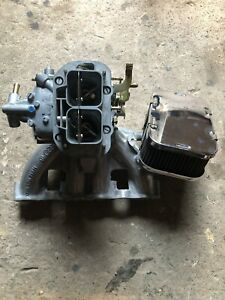 Vw Mk1 Rabbit Jetta Caddy 8v New Weber 32 36 Carburetor And Used Manifold
