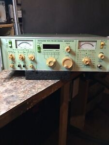 Boonto 201c Fm am Signal Generator Modulates Both Fm And Am