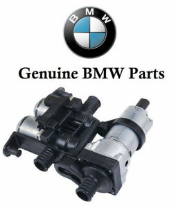Original Bmw E38 E39 Heater Control Valve With Auxiliary Water Pump 64118374994