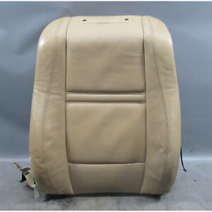 2007 2014 Bmw E70 X5 Left Front Comfort Seat Back Beige Napa Leather Heated Oem