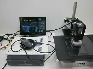 Keyence Lt 9011m Confocal Displacement Sensor W Lt 9501h Controller Tested