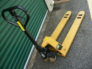 Cat Pallet Jack 20 5 X 48 Inch Local Pick Up 5 Miles From Memphis Nice Unit