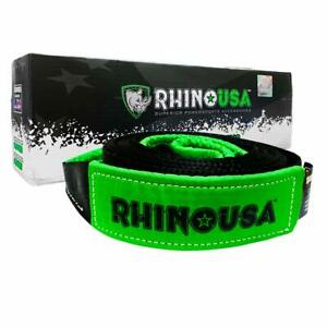 Rhino Usa Tree Saver Winch Strap 3 Inch X 8 Foot Lab Tested 31518lb Break S