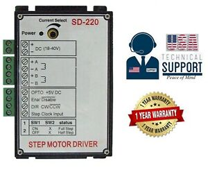 Gme Sd 220 Stepper Motor Driver 1 yr Usa Warranty support