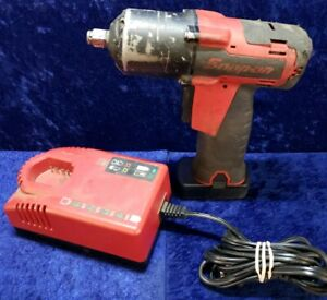 Snap on Tools 14 4 V 3 8 Drive Microlithium Cordless Impact Wrench Kit