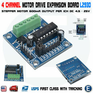 L293d Module Mini 4 channel Motor Drive Shield Expansion Stepper Board 4 Arduino