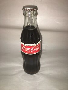 Coca-Cola 0,2L (German) Coke Deposit Bottle w/ Paper Label  Pfand-Wert-Flasche