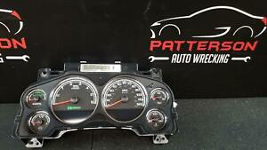 2008 Chevy Tahoe Speedometer Instrument Dash Gauge Cluster Assembly 159 351 Mile