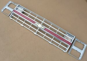 1981 1991 Oem Chevy Gmc Truck Suburban K5 Blazer Complete Grille Assembly
