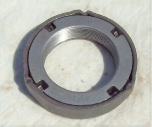 Ford Sterling 10 25 10 50 Rear Axle Wheel Bearing Lock Nut Ratcheting Style Mint