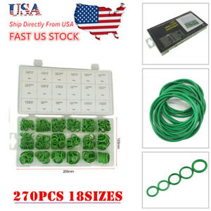 270x Car A C System Air Conditioning O Ring Insulation Gaskets Seals Tool Kit Us